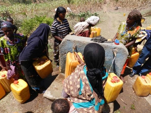 Awberkulé, pompage solaire pour 4 villages
