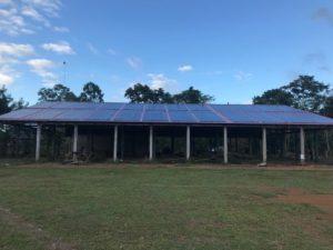 Inauguration du micro-réseau solaire à Wawashang