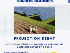 Projection-débat : l'implication des acteurs locaux pour des projets solaires durables